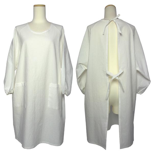 カレンダー カレンダー デザイン フリー : オフホワイトの定番かっぽう着 ...
